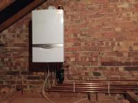 Vaillant boiler install