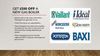 £500 off your new boiler