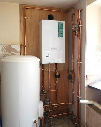 System Boiler Install