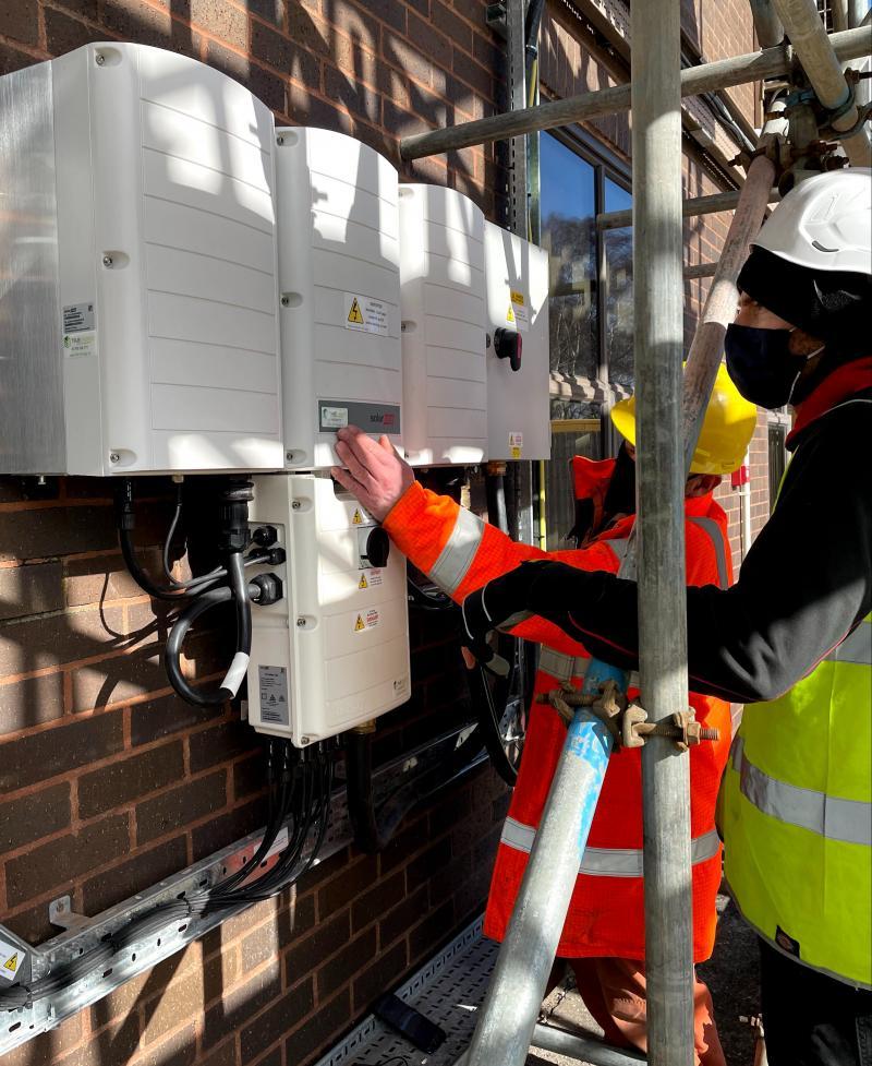 SolarEdge Synergy 82kW Inverter Commissioning
