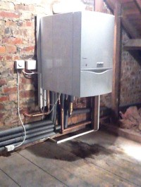 937 Vaillant installed in a loft