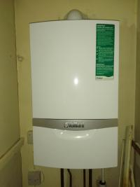 Boiler upgrade with vaillant combi