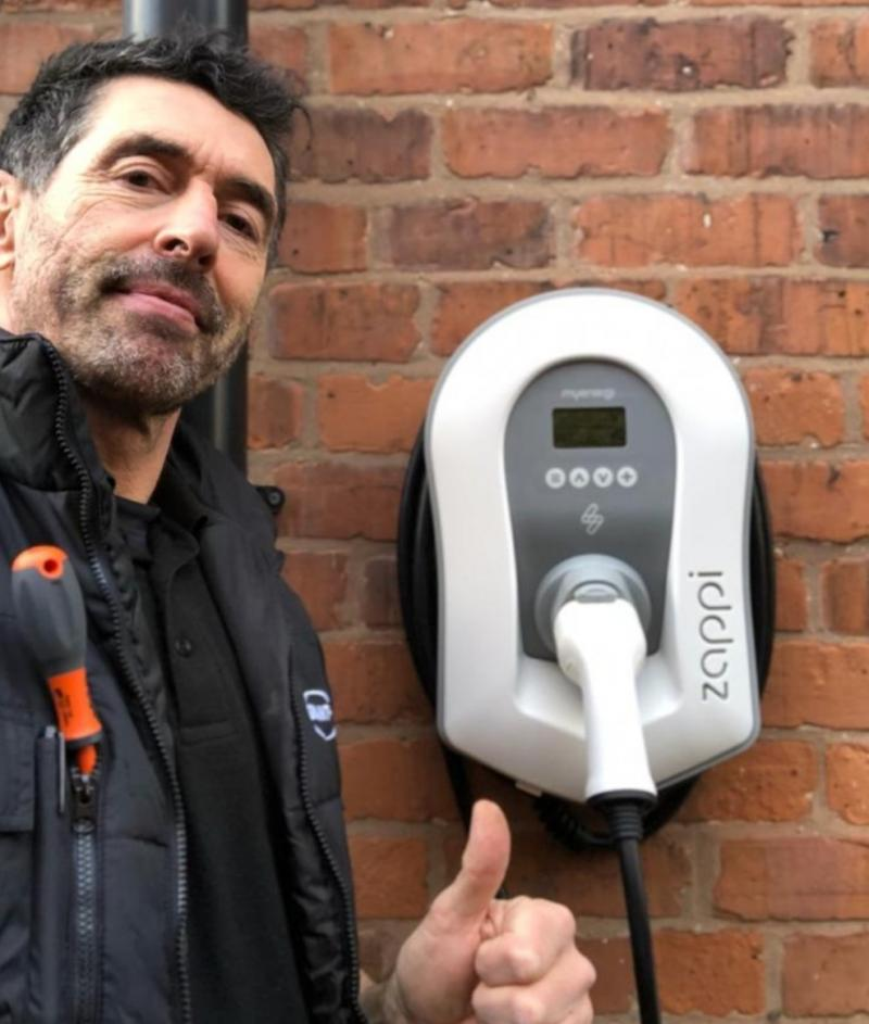 Zappi Electric Vehicle Charger (And Dan)