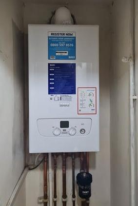 Baxi boiler install