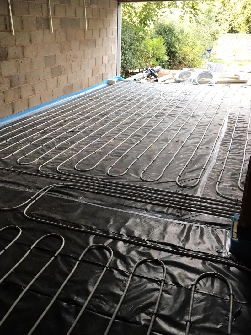Underfloor heating