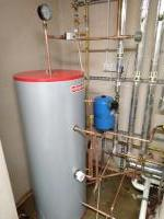 Replacing unvented cylinder in boiler room