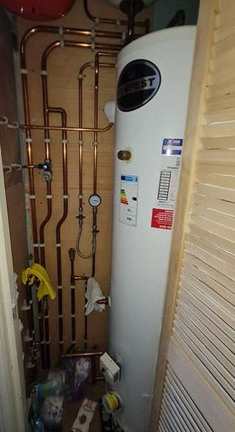 Pipework tidy up