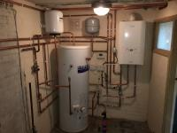 Upgrade to unvented cylinder and boiler