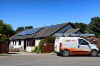 AES Solar installation of solar thermal and solar pv
