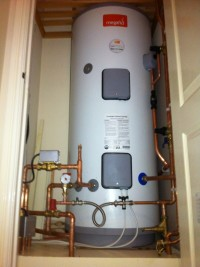 boiler and mega-flow installation after power flushing in cheshunt