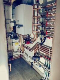 Plant room installation