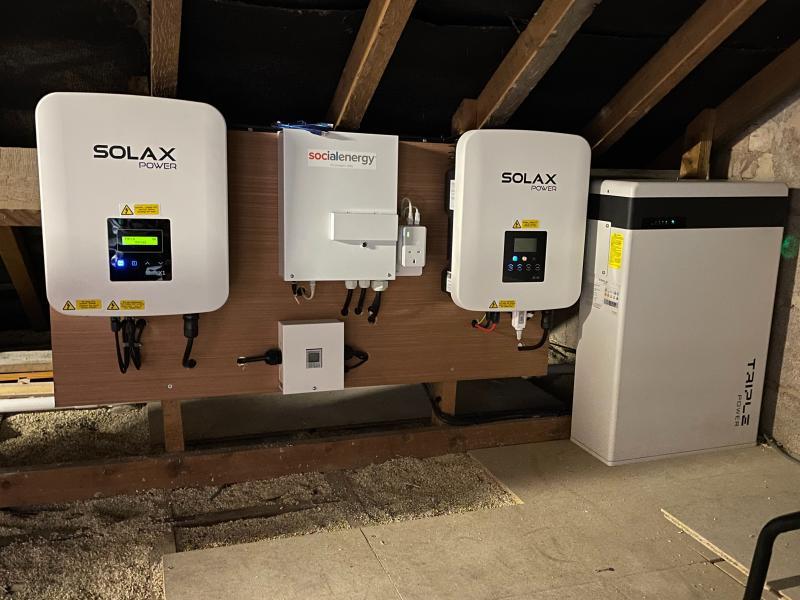 Solar PV Batteries
