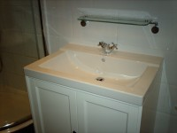 New bathroom basin