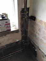 Bathroom 1st fix pipework