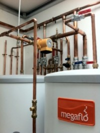 Unvented hot water and boiler installation, Enfield