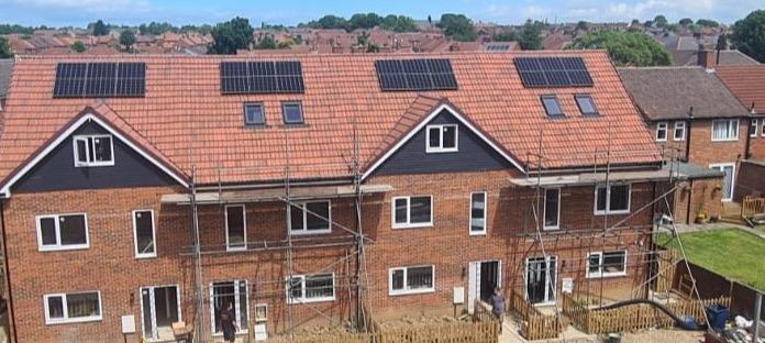 4 x PV Systems for New Build Development
