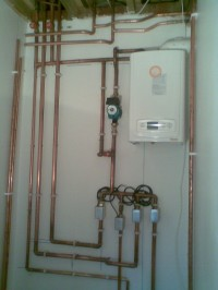 Zoned Heating System..The first stage