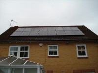 4 Kw Solar System in Warrington