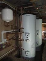 Unvented hot water storage cylinders.