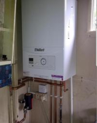 Boiler replacement combi for combi