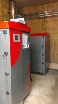 Commercial Biomass Boiler