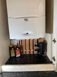 Worcester 25i combi install with nest smart room thermostat
